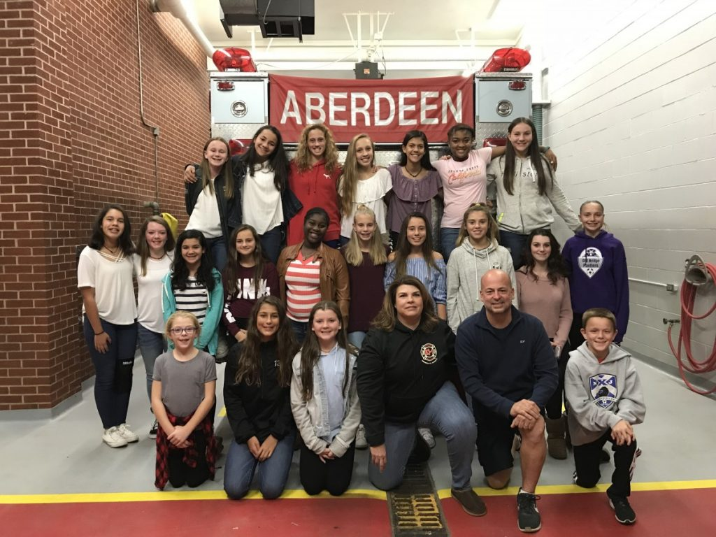 Matawan-Aberdeen Middle School Girls Soccer Team 2017, Shore Conf. Champs